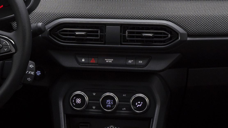 Front airbag passagier (uitschakelbaar)