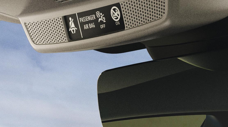Akkustische Gurtwarnung für die hinteren Sitzplätze