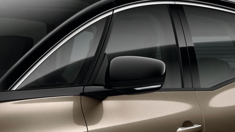 Buitenspiegelkappen niet in carrosseriekleur