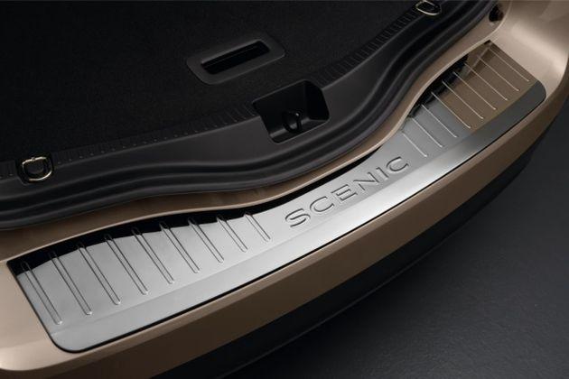 Gepäckraumkante - Edelstahl -Fahrzeug ohne einklappbare Anhängerkupplung