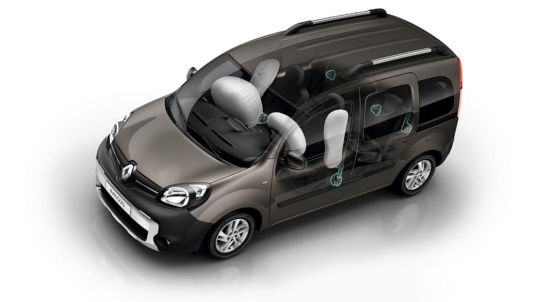 Airbags laterais tórax dianteiros