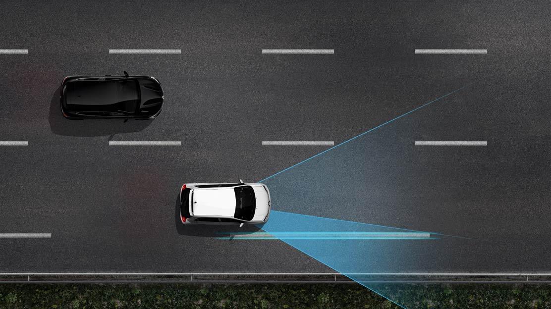 Sistem LDW - opozorilnik za nenamerno menjavo voznega pasu