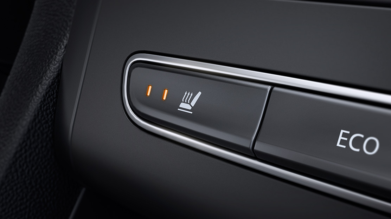 Sistema de aquecimento dos bancos dianteiros
