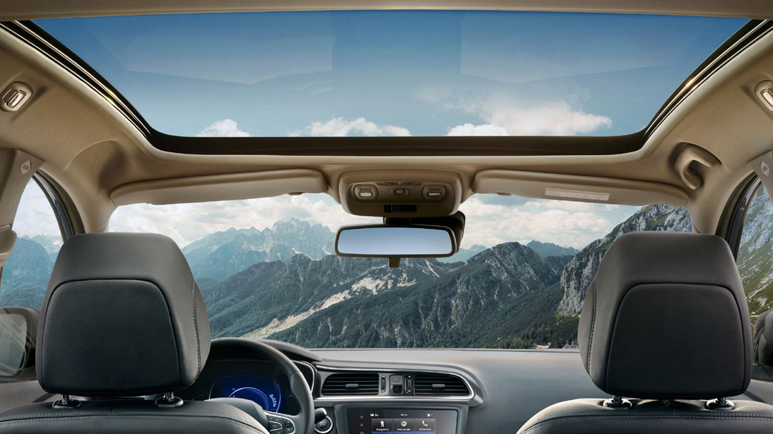 Panoramic sunroof