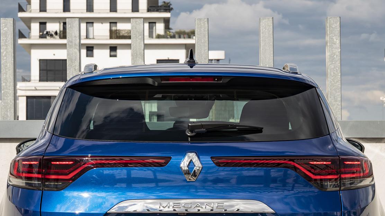 Heated rear window