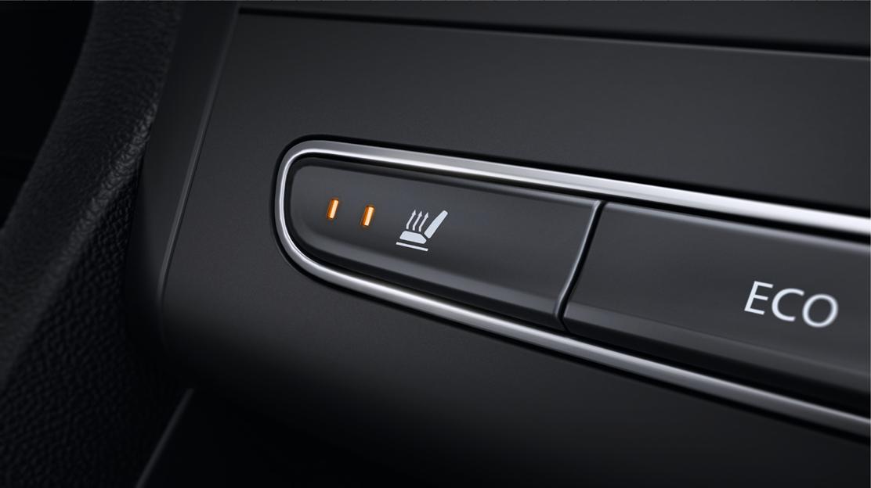 Sièges avant chauffants (implique Sellerie Cuir Type GT et Sellerie cuir Alcantara Type GT)