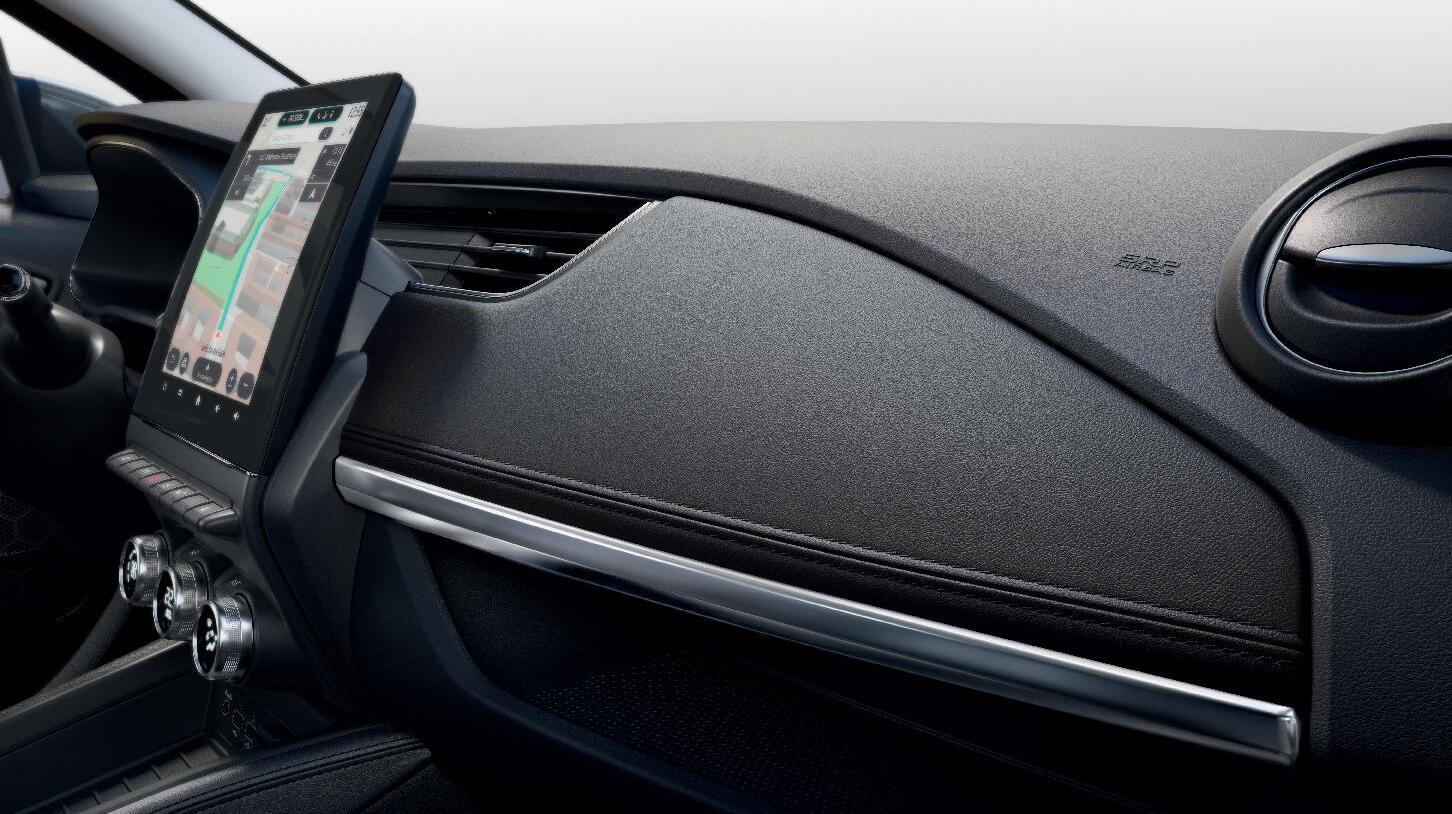 Adaptieve airbags voor bestuurder en passagier vóór (uitschakelbare passagiersairbag)