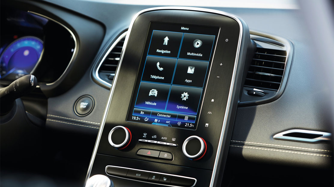 Radio touchscreen da 8.7'' con DAB