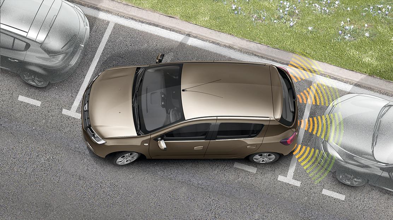 Sistema de ajuda ao estacionamento traseiro
