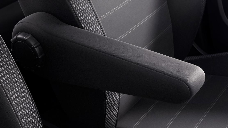 Sitzkomfort-Paket: Mittelarmlehne vorne,  Lordosenstütze verstellbar für Fahrersitz
