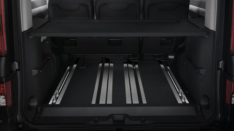 Polica prtljažnog prostora (jednodijelna na L1 i dvodijelna na L2 verziji)