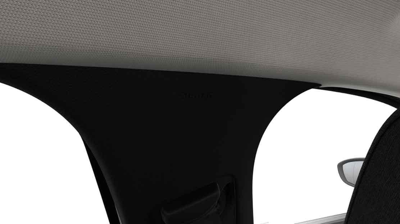 Kopf- und Thoraxschutz Airbags vorne und Fensterairbags vorne und hinten