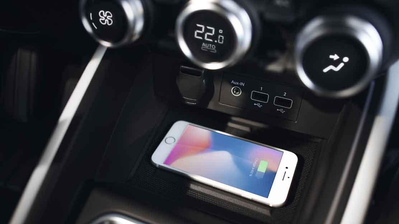 Induktive Ladung für Smartphone