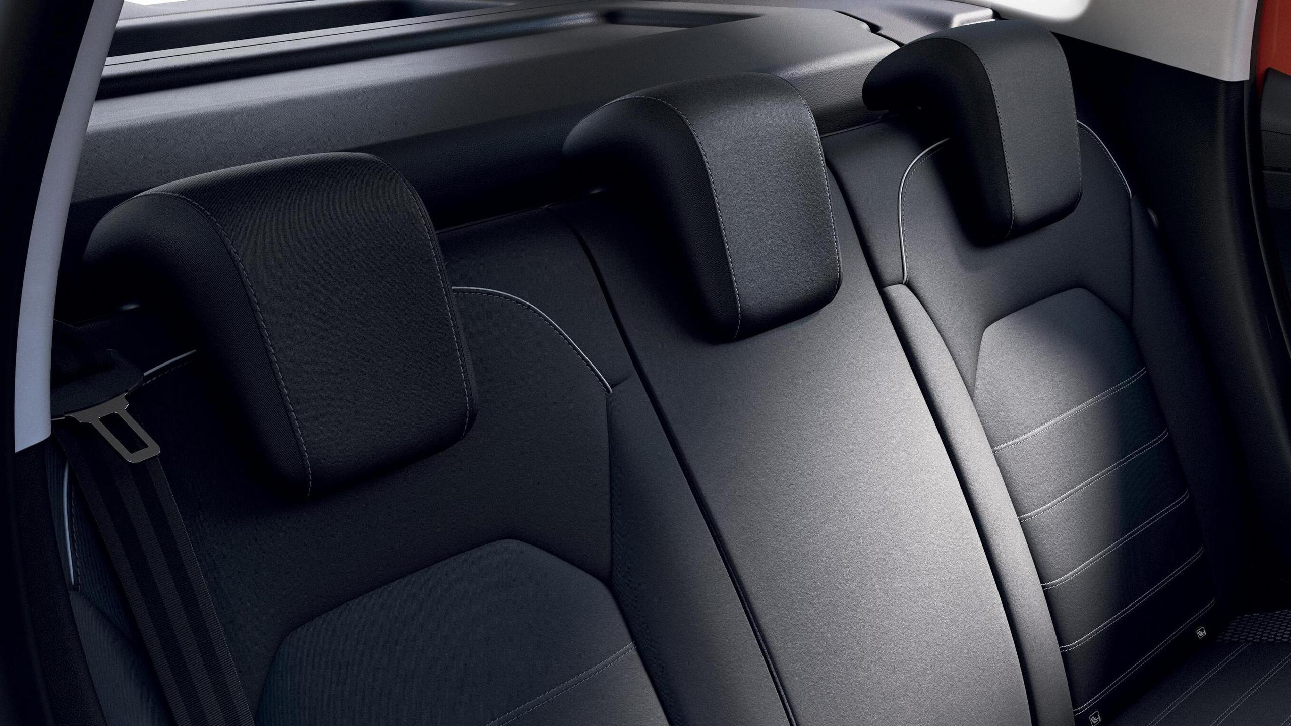 3 rear headrests