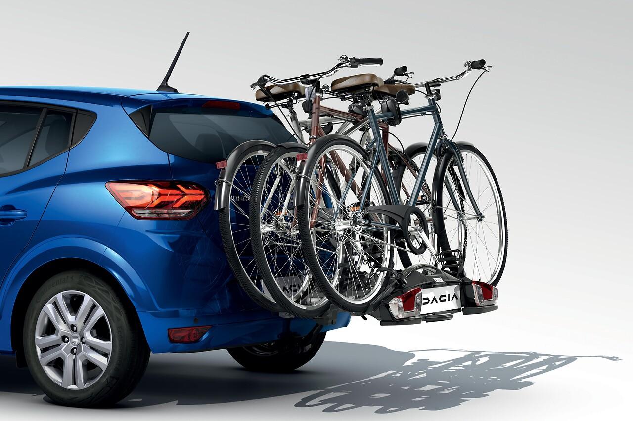 Portabicicletas Coach; sist. remolcado montado; 3 bicicletas, 13 clavijas