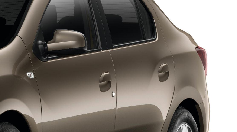 Puxadores exteriores das portas na cor da carroçaria
