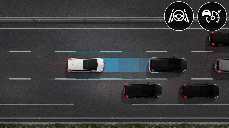 Sistema de assistência na condução em autoestrada e trânsito