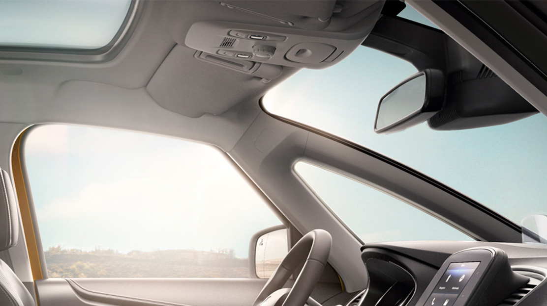 Pálas de sol do condutor e passageiro com espelho de cortesia