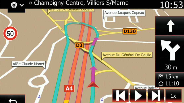 Teljes-Európa térkép az R-Link Evolution navigációhoz