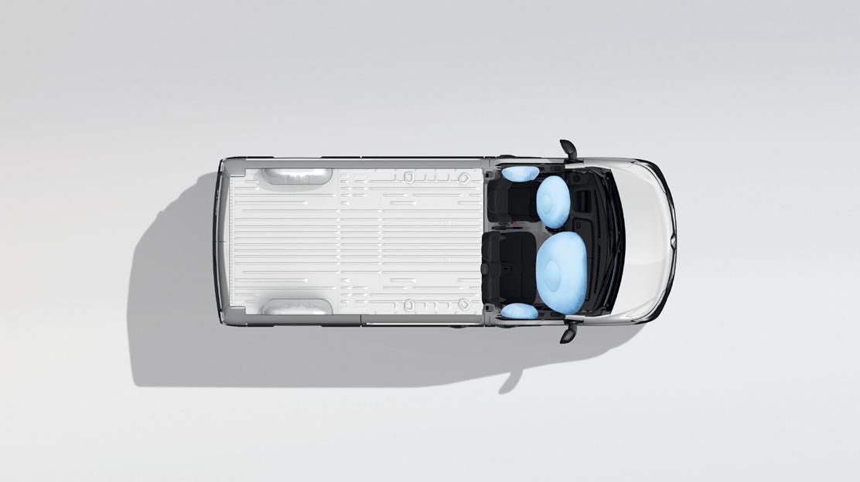 Airbags laterali conducente e passeggero