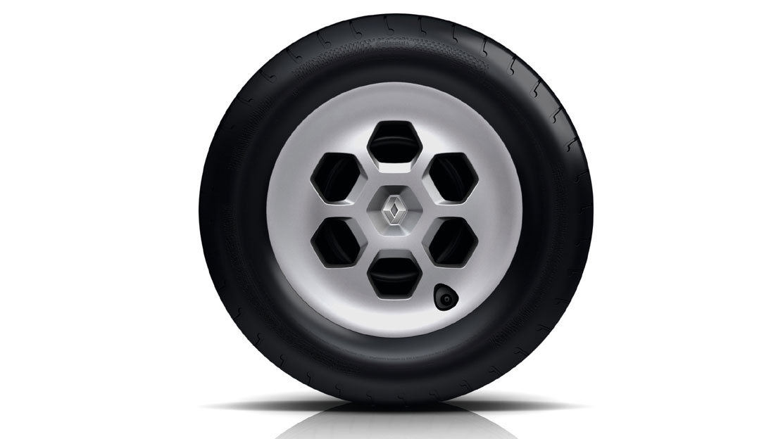 Poklopac kotača sive boje