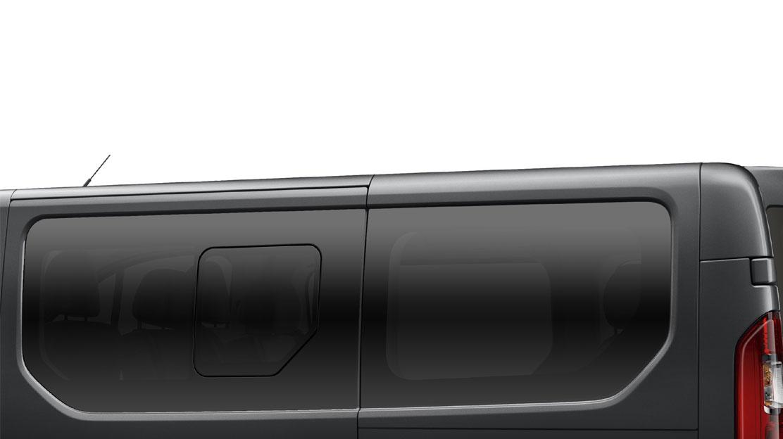 Cristales laterales 2ª/3ª fila y traseros tintados (Oscuros)