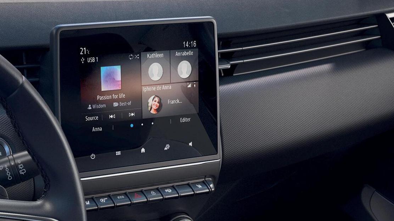 Renault EasyLink: système multimédia avec écran couleur tactile 7