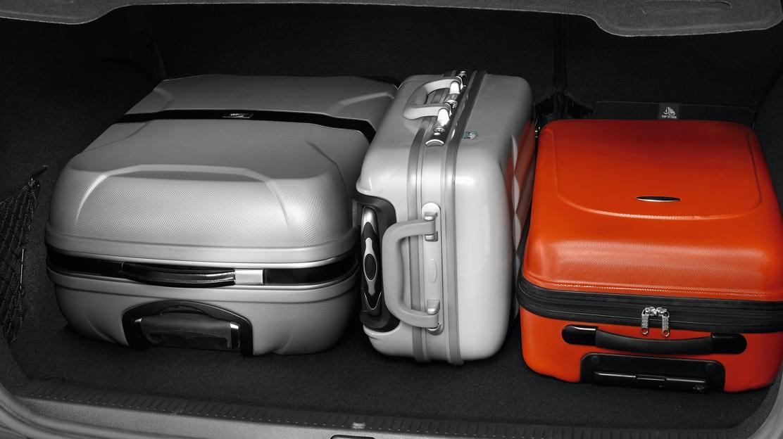 Gepäckraumabdeckung, herausnehmbar
