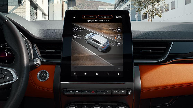 Renault MULTI-SENSE (3 modos condução, 8 opções iluminação ambiente - implica Travão com Auto-hold)
