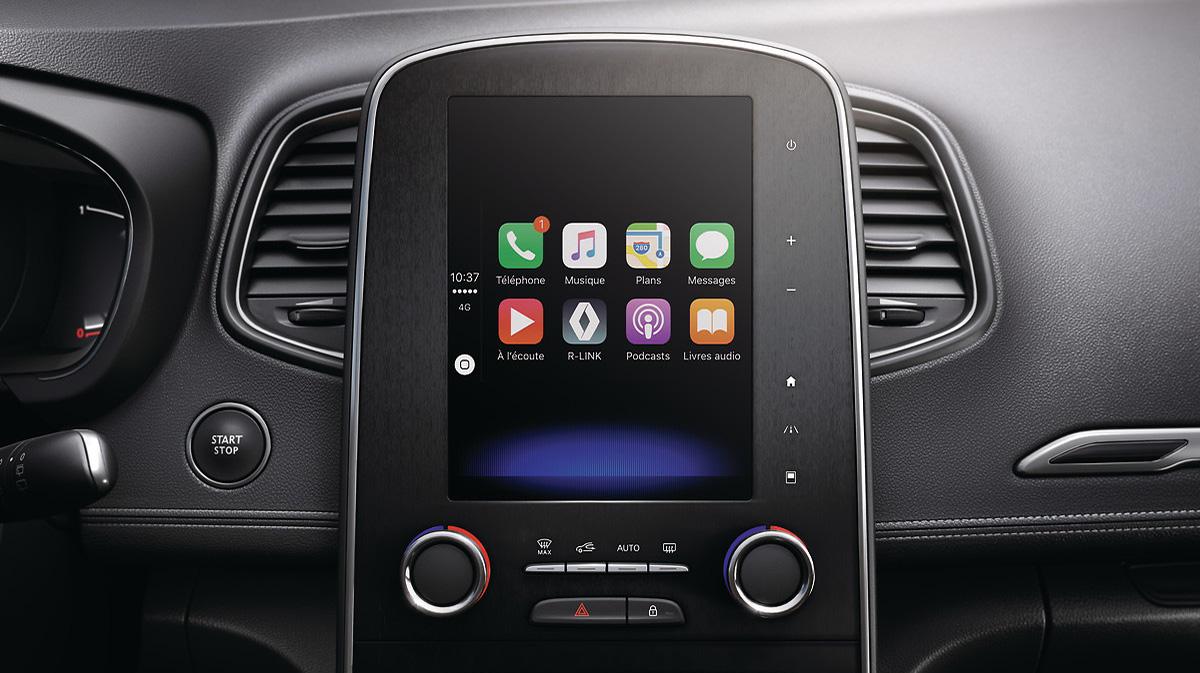 Funkcija povezljivosti z aplikacijama Android Auto™ in Apple CarPlay™