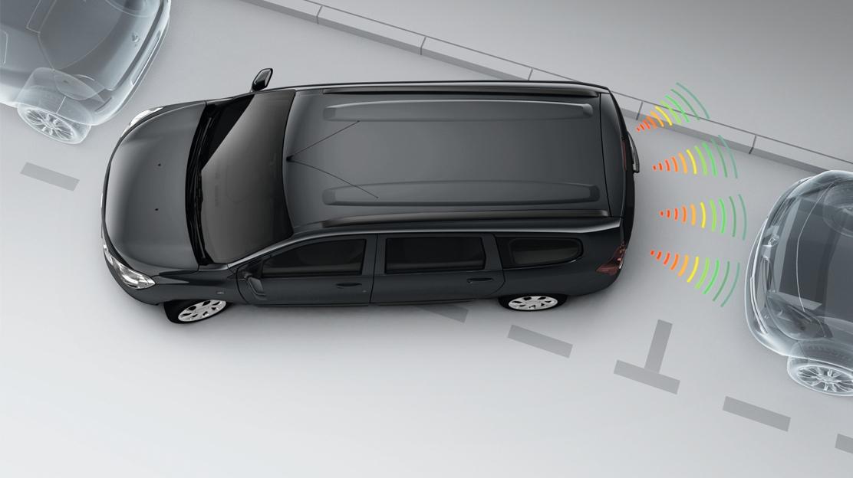 Parkirni senzorji + kamera