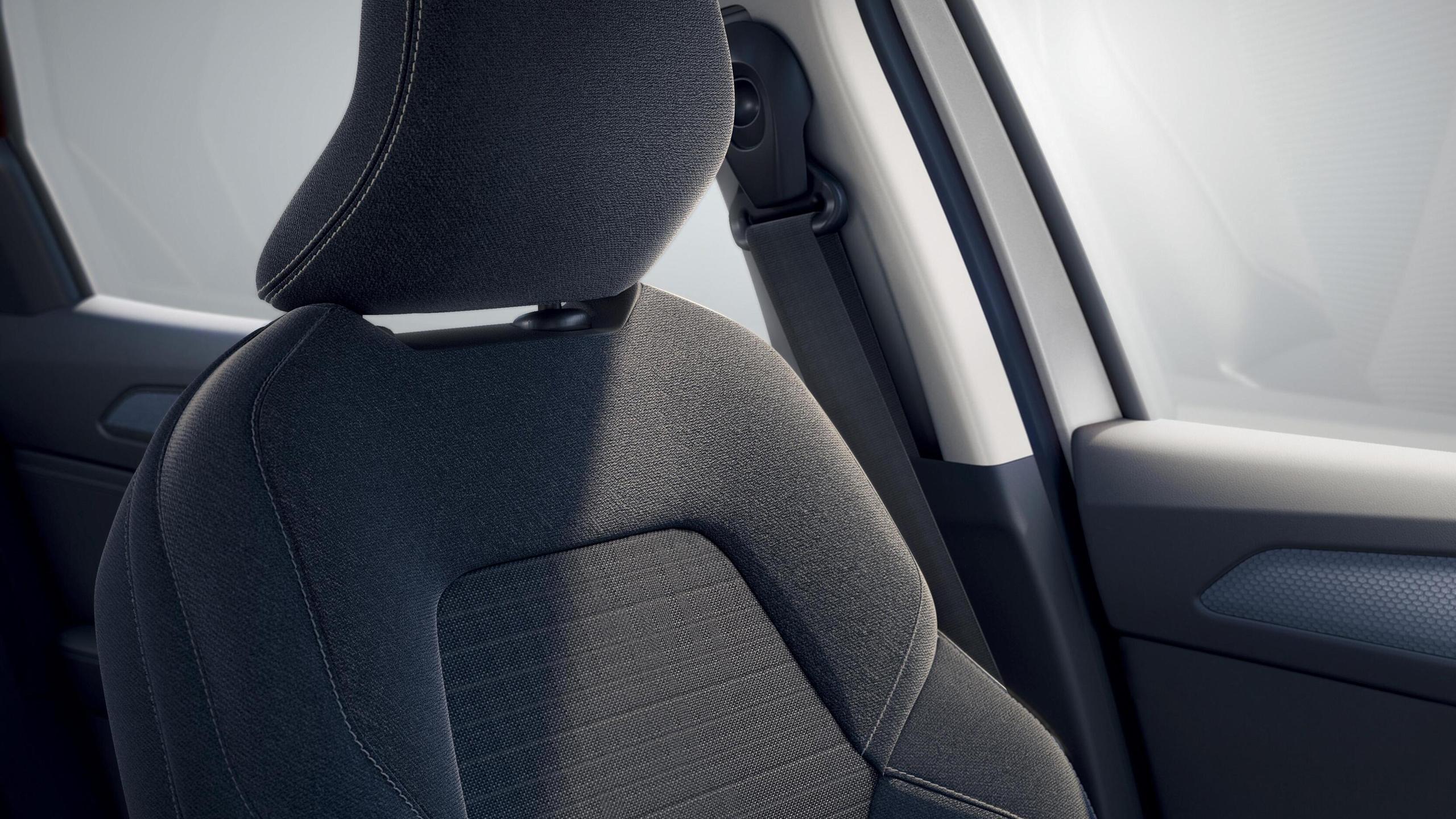 Airbag conducteur et passager à retenue programmée