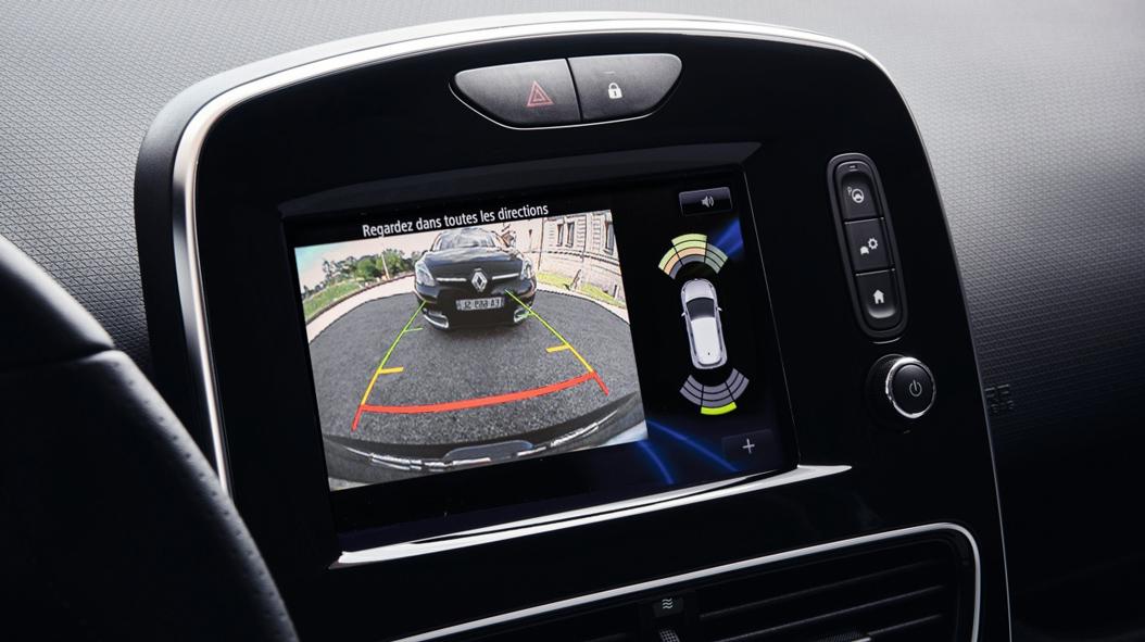 Parkeersensoren achter met sonische weergave inclusief achteruitrijcamera