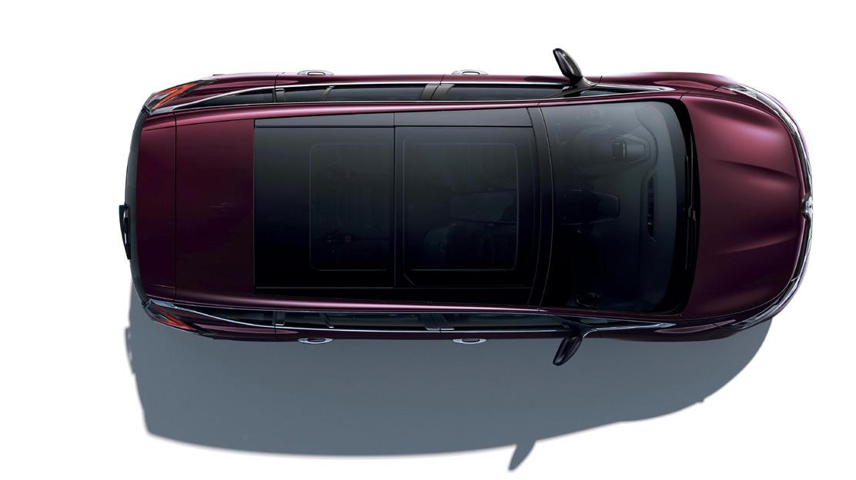 Parabrezza panoramico Lumiere (con tetto in vetro sulla prima fila)