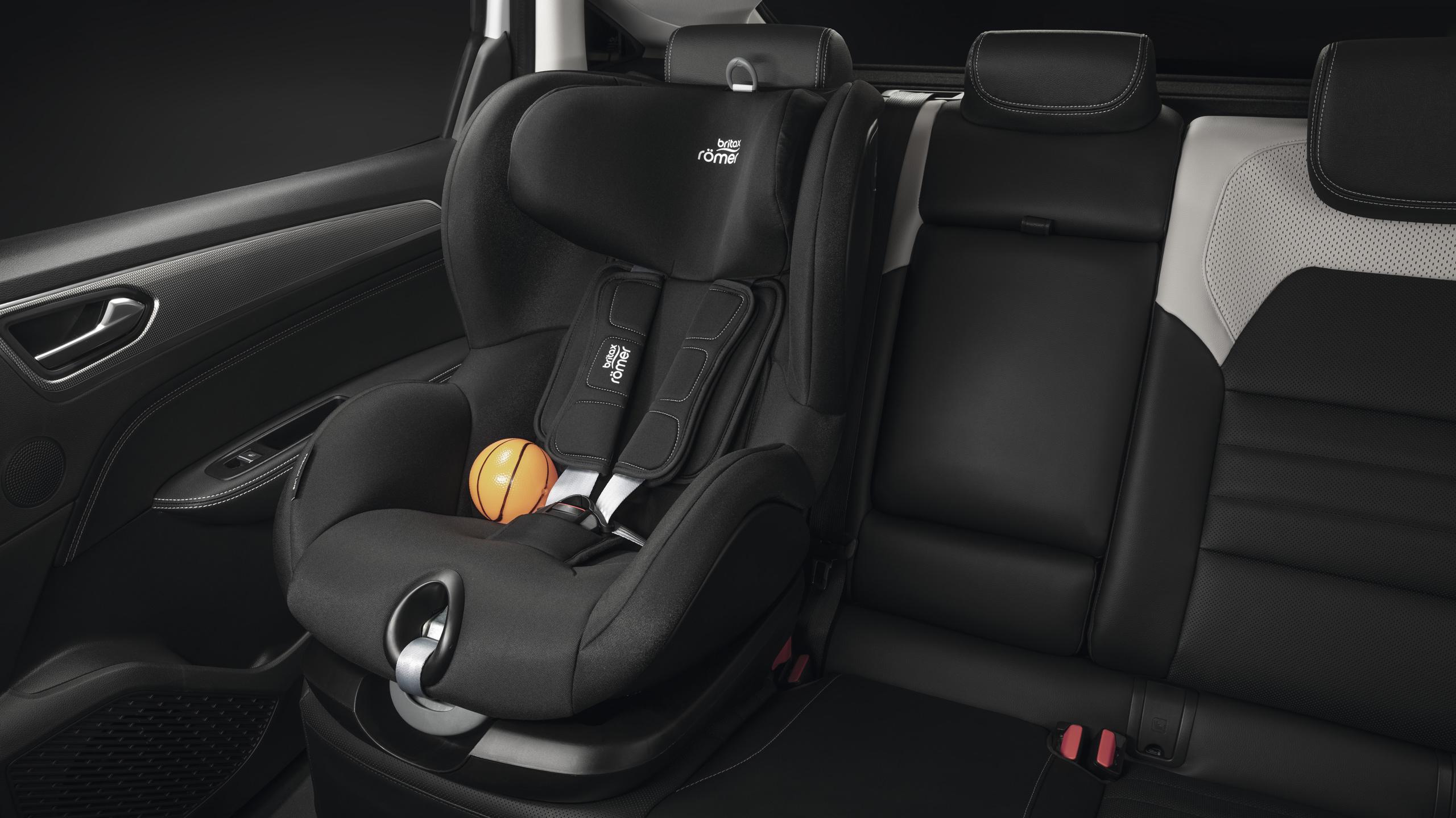 Isofix-bevestiging voor kinderzitje op de zijdelingse zitplaatsen achteraan