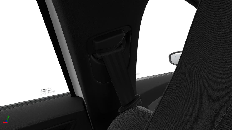 Height adjustable passenger seatbelt