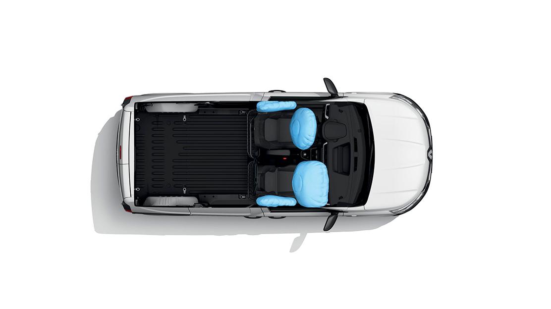 Airbag lateral delantero + cortina