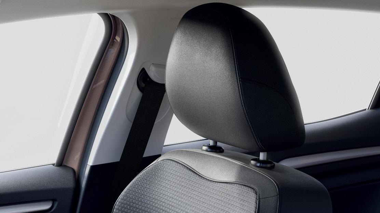 Cinture di sicurezza conducente regolabile in altezza