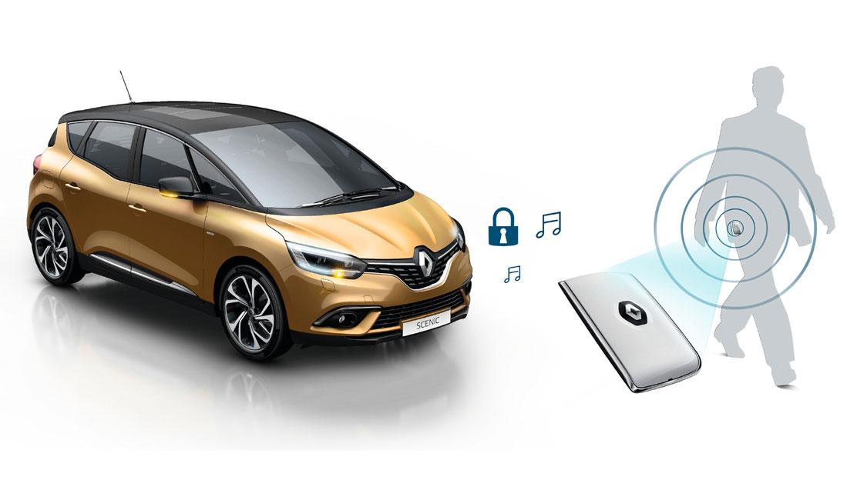 Renault handenvrije instap- en startkaart