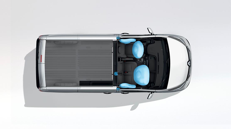 Pack Seguridad (Airbag frontal cond.+pas., Detector presión neumáticos, Airbag tórax+cortina del.)