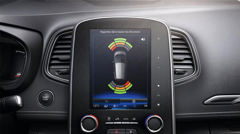 Sensor de aparcamiento delantero y trasero