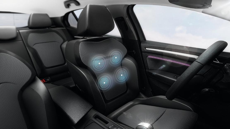 Stoel bestuurder met elektrische massage-functie (alleen i.c.m. leder)