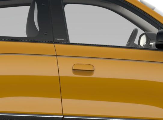 Kljuki prednjih vrat v barvi karoserije