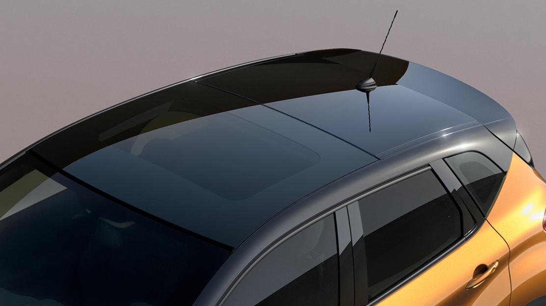 Panoramatické strešné okno - fixné