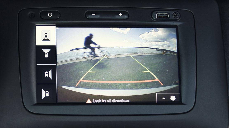 Камера заднього огляду з заднім парктроніком