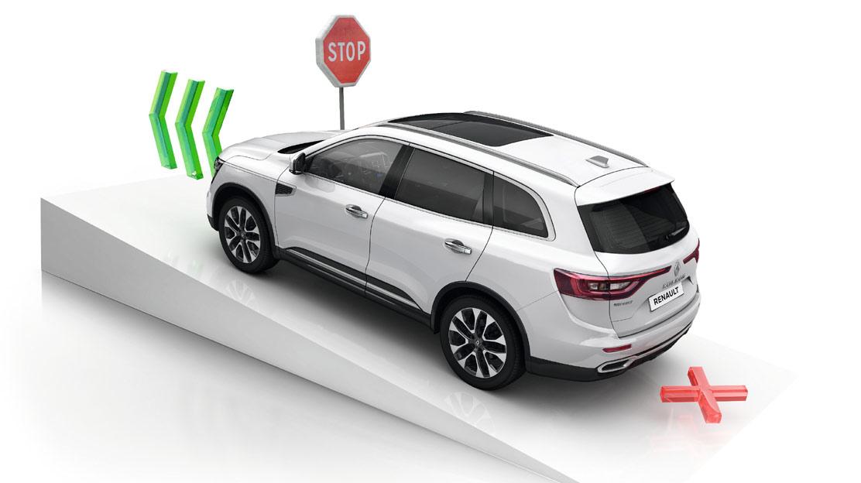 ESP (sistem de stabilitate electronica a autovehiculului) cu asistenta la pornirea in rampa