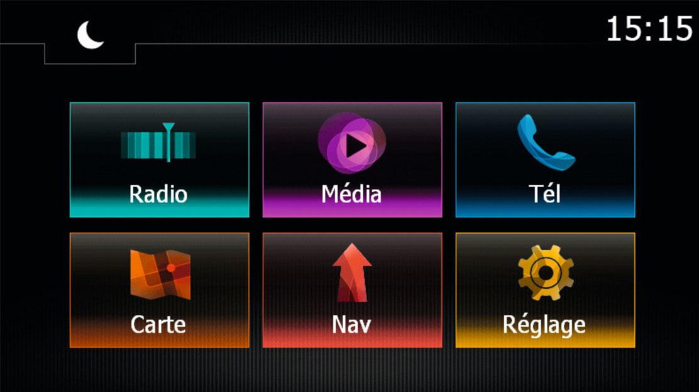 """MediaNav multimedia- en navigatiesysteem met 7"""" touchscreen"""