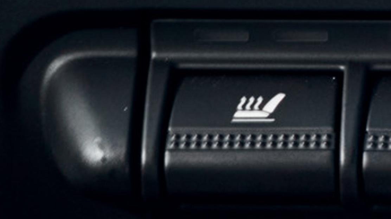 Verwarmde zetels vooraan