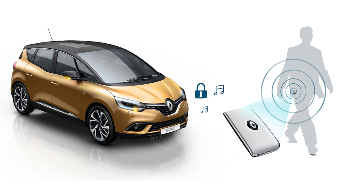 Carte Renault Keyless-Drive Hands-free