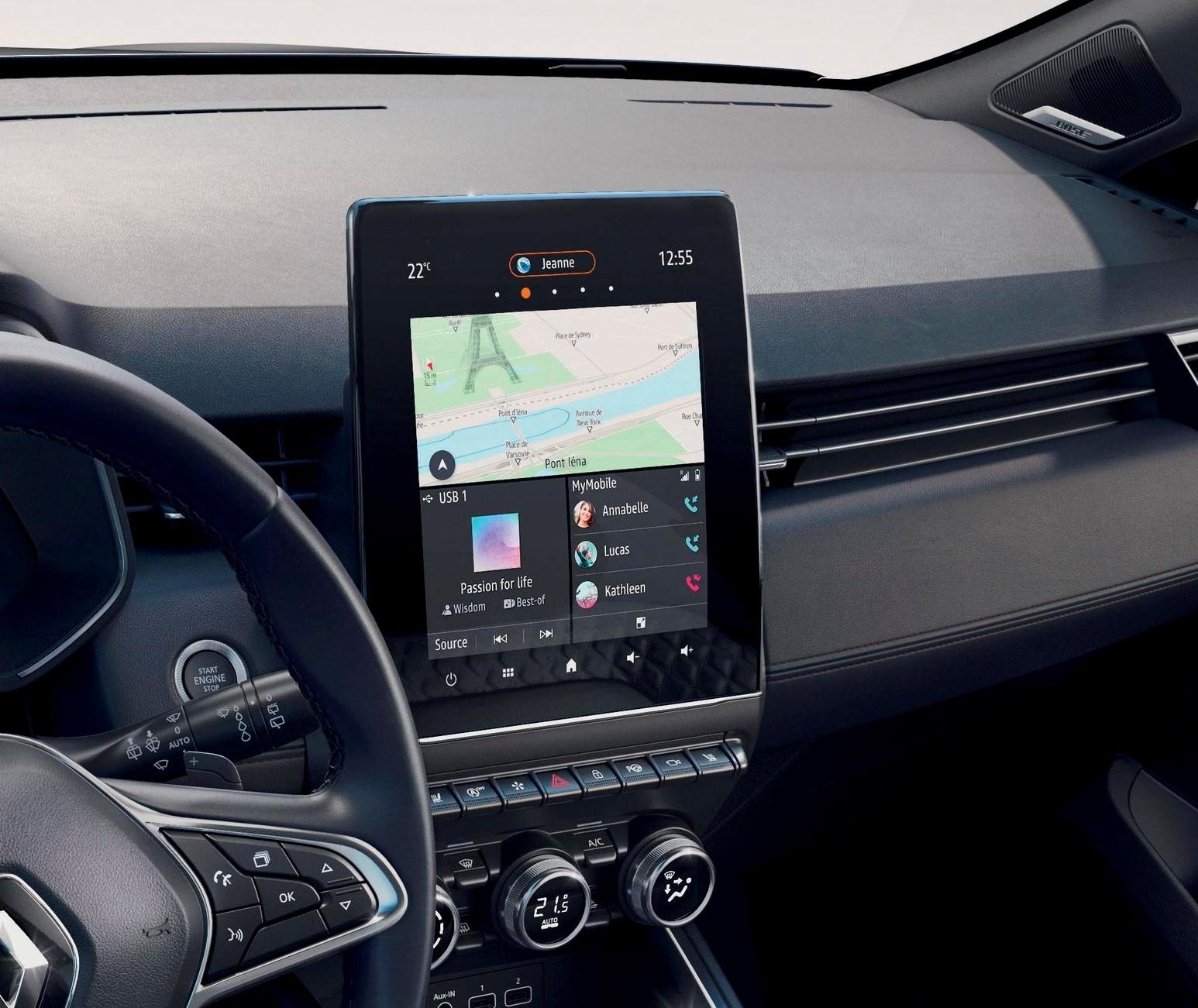 """Multimedijski sistem EASY LINK s 23 cm (9,3"""") zaslonom na dotik in navigacijo"""